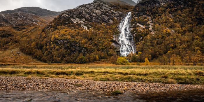 Autumn-waterfall