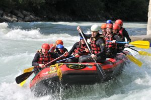 White-water rafting